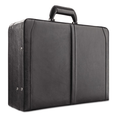 "Classic attache, 16"", 18 x 7 x 12 1/2, black, sold as 1 each"