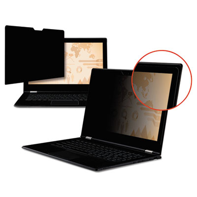 "Touch compatible privacy filter, for 15.6"" widescreen lcd, 16:9, sold as 1 each"