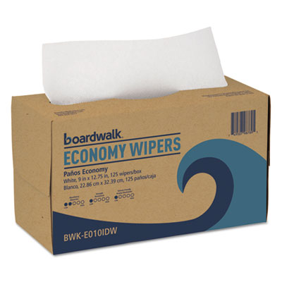 Tad wipers, 1-ply, white, 9 x 12 3/4, 2250/carton, sold as 1 carton, 2250 each per carton
