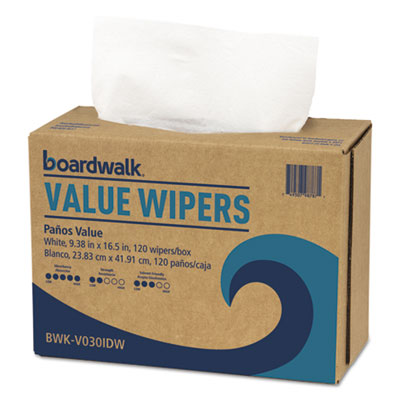 Drc wipers, white, 9 1/3 x 16 1/2, 900/carton, sold as 1 carton, 900 each per carton