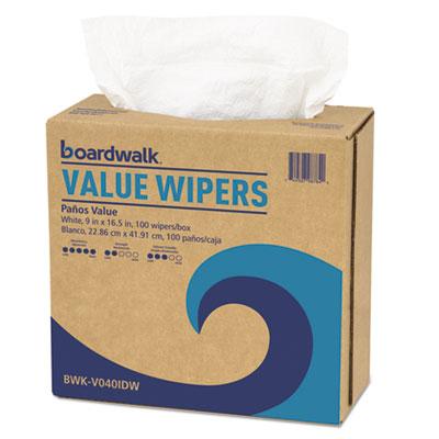 Drc wipers, white, 9 x 16 1/2, 900/carton, sold as 1 carton, 900 each per carton