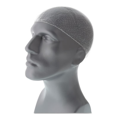 "Lightweight latex-free hairnets, white, 28"", nylon, 144/box, sold as 1 package"