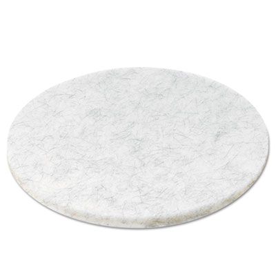Ultra high-speed floor pads, natural hair/polyester, 20-inch diameter, 5/carton, sold as 1 carton, 5 each per carton