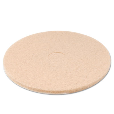 Ultra high-speed floor pads, ultra champagne, 20-inch diameter, 5/carton, sold as 1 carton, 5 each per carton