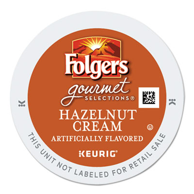 Gourmet selections hazelnut cream coffee k-cups, 24/box, sold as 1 box, 24 each per box
