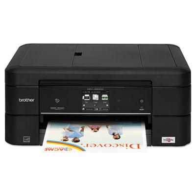 Mfc-j880dw worksmart compact wi-fi color inkjet all-in-one, copy/fax/print/scan, sold as 1 each