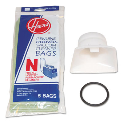 Bag adapter kit, white/black, sold as 1 each