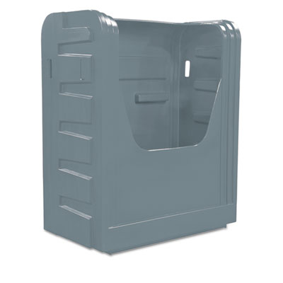 Bulk transport truck, 28 x 50 1/2 x 66 3/4, 800 lbs. capacity, gray, sold as 1 each
