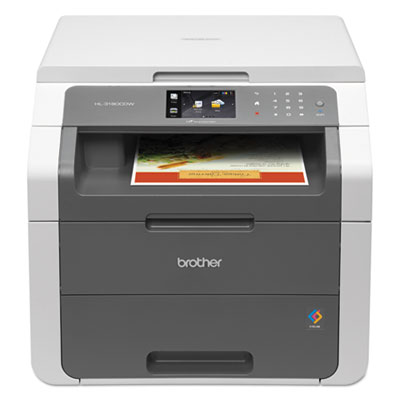 Hl-3180cdw wireless digital color multifunction printer, copy/print/scan, sold as 1 each