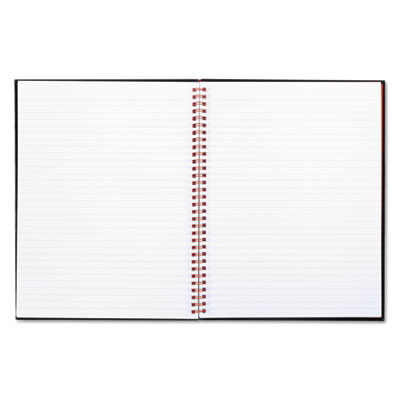 Twinwire hardcover notebook, legal rule, 8 1/2 x 11, white, 70 sheets, sold as 1 each
