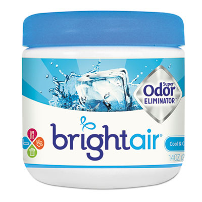 Super odor eliminator, cool and clean, blue, 14oz, sold as 1 each