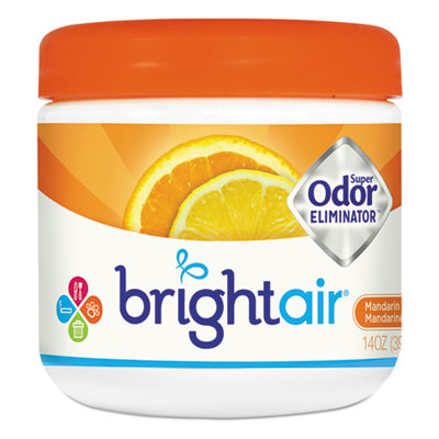 Super odor eliminator, mandarin orange and fresh lemon, 14oz, sold as 1 each