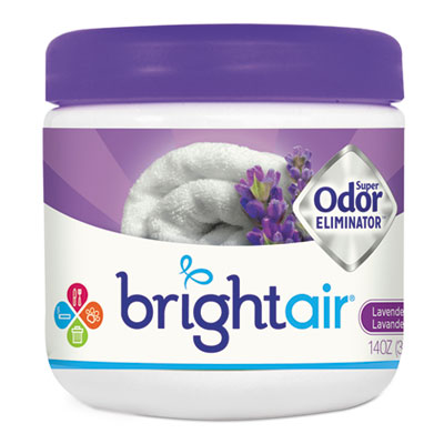 Super odor eliminator, lavender and fresh linen, purple, 14oz, sold as 1 each