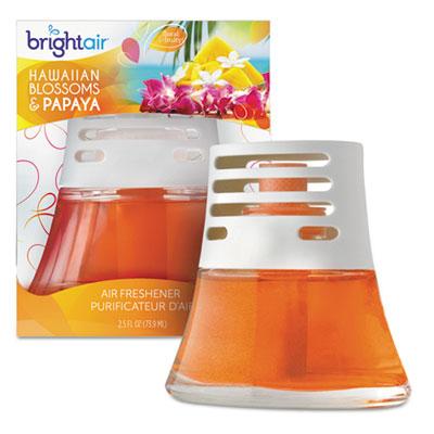 Scented oil air freshener, hawaiian blossoms and papaya, orange, 2.5oz, 6/carton, sold as 1 carton, 6 each per carton