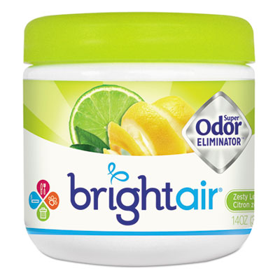 Super odor eliminator, zesty lemon and lime, 14 oz, sold as 1 each
