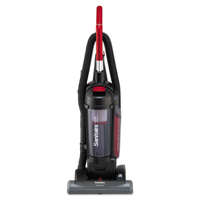 Bagless/cyclonic vacuum with sealed hepa filtration, red, sold as 1 each