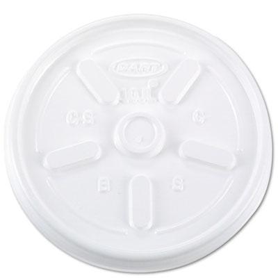 Vented plastic hot cup lids, 10jl, 10 oz., white, 1000/carton, sold as 1 carton, 1000 each per carton