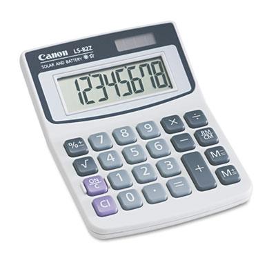 Ls82z minidesk calculator, 8-digit lcd, sold as 1 each