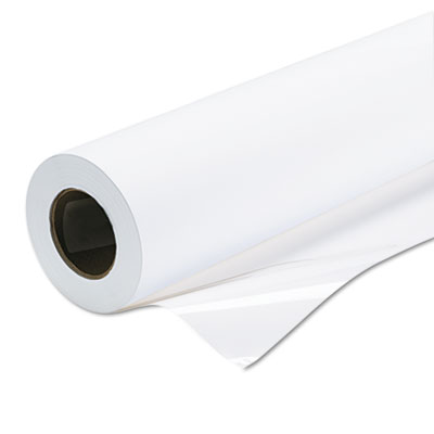 """Universal backlit photographic film, 8 mil, 36"""" x 100 ft roll, white, sold as 1 each"""