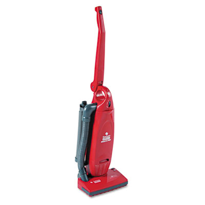 Multi-pro two-motor lightweight upright vacuum, 13.75lb, red, sold as 1 each