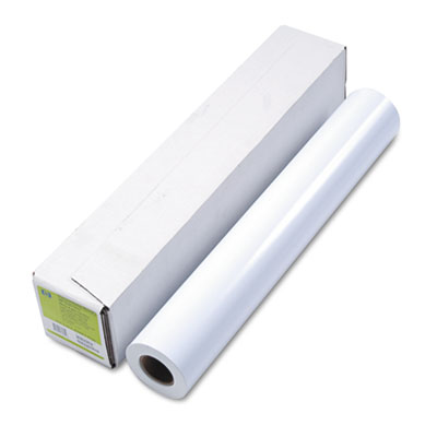 "Designjet inkjet large format paper, 24"" x 100 ft, white, sold as 1 roll"