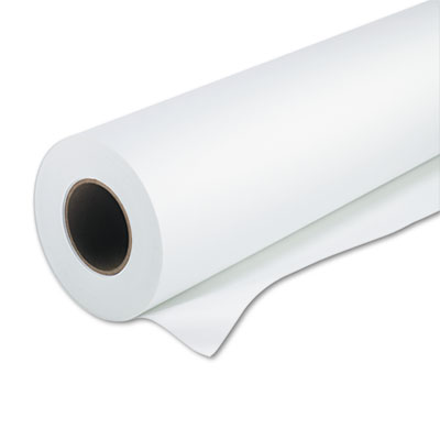 "Super heavyweight plus matte paper, 24"" x 100 ft, ultra white, sold as 1 roll"