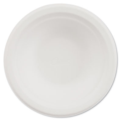 Classic paper bowl, 12oz, white, 125/pack, sold as 1 package