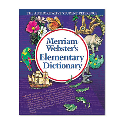 Elementary dictionary, grades 3-5, hardcover, 624 pages, sold as 1 each