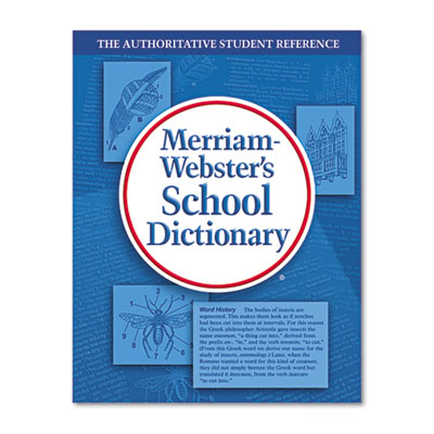 School dictionary, grades 9-11, hardcover, 1,280 pages, sold as 1 each
