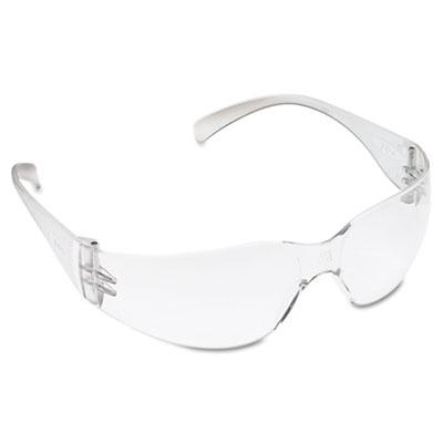 Virtua protective eyewear, clear frame, clear hard-coat lens, 20/carton, sold as 20 each