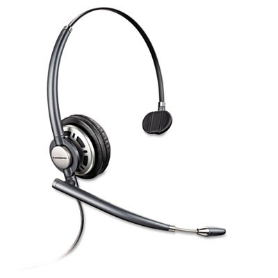 Encorepro premium monaural over-the-head headset w/noise canceling microphone, sold as 1 each