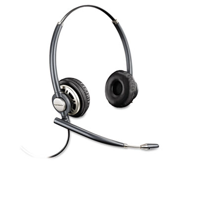Encorepro premium binaural over-the-head headset w/noise canceling microphone, sold as 1 each