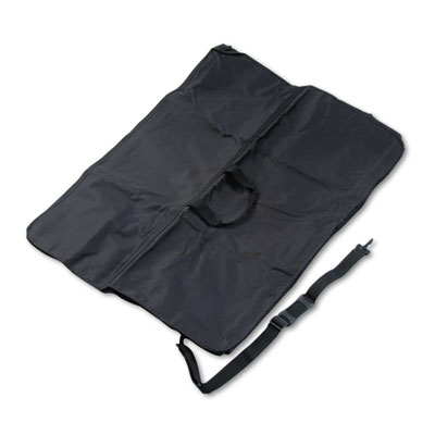 Presentation easel carrying case, ballistic nylon, 32 x 42, black, sold as 1 each