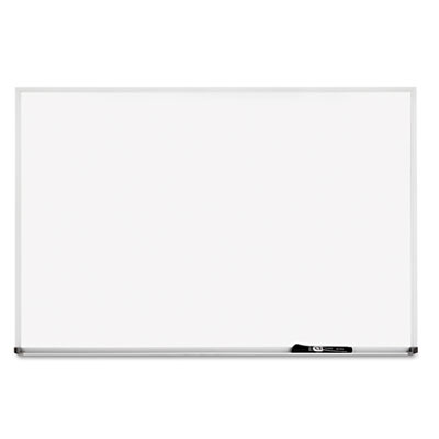 Dry-erase board, melamine surface, 48 x 36, silver aluminum frame, sold as 1 each