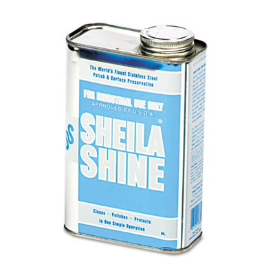 Stainless steel cleaner & polish, 1qt can, sold as 1 each