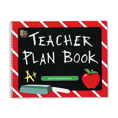 Plan book, spiral-bound, 9-1/2 x 12, 96 pages, sold as 1 each