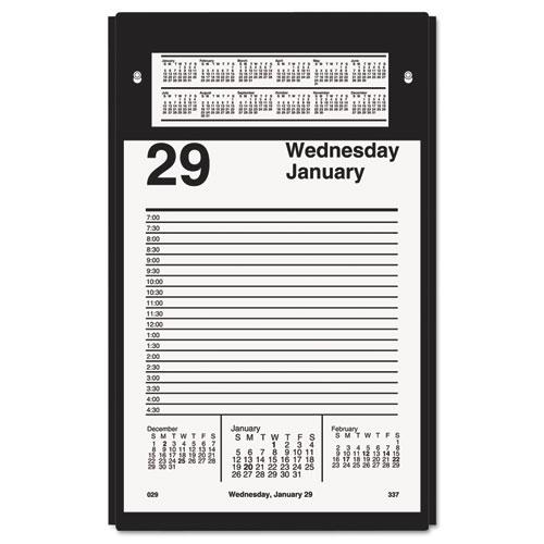 Pad style desk calendar refill, 5 x 8, 2016, sold as 1 each