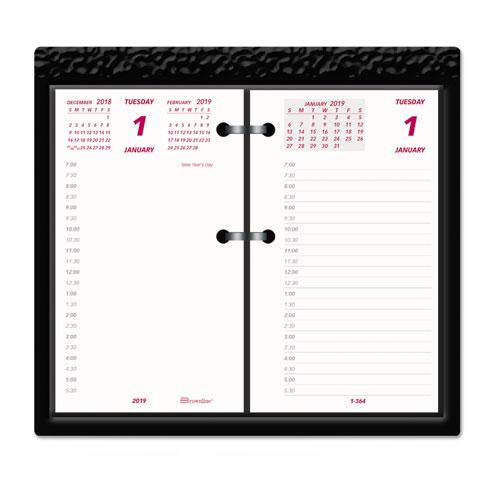 Daily calendar pad refill, 6 x 3-1/2, 2016, sold as 1 each