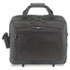 CityGear Rolling Travel Laptop Case, Nylon, 18 x 10 x 15, Black