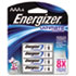 e² Lithium Batteries, AAA, 4/Pack