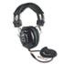 Deluxe Stereo Headphones w/Mono Volume Control, Black