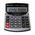 15966 Minidesk Calculator, 12-Digit LCD
