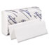 Paper Towel, 9 1/5 x 9 2/5, White, 125/Pack, 16 Packs/Carton
