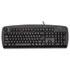 Comfort Type USB Keyboard, 104 Keys, Black