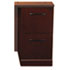 Sorrento Series File/File Pedestal For Credenza Top, Bourbon Cherry