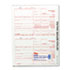 IRS Approved 1099 Tax Form, 8 x 5-1/2, Five-Part Carbonless, 50 Forms