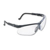 Honeywell Uvex™ Genesis Wraparound Safety Glasses, Black Plastic Frame, Clear Lens - 763-S3200