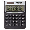 <strong>Victor®</strong><br />1000 Minidesk Calculator, Solar/Battery, 8-Digit LCD