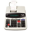 1297 Two-Color Commercial Printing Calculator, Black/Red Print, 4 Lines/Sec
