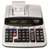PL8000 One-Color Prompt Logic Printing Calculator, Black Print, 8 Lines/Sec